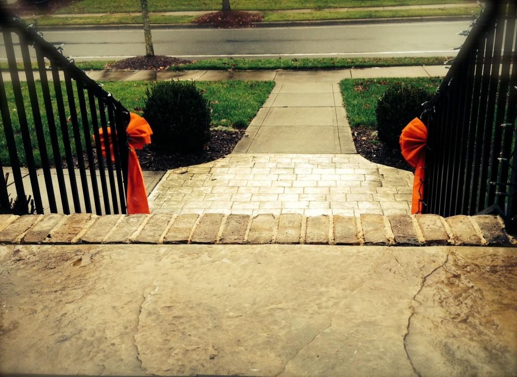 Rain porch