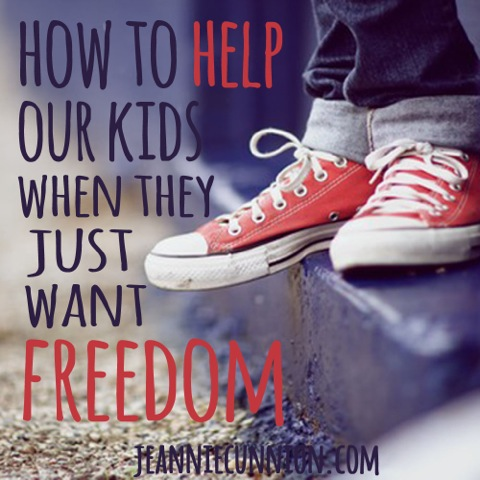 How to Help Our Kids When They Just Want Freedom - Square