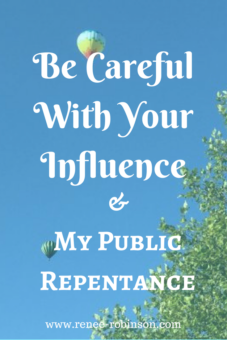 Use Influence Wisely
