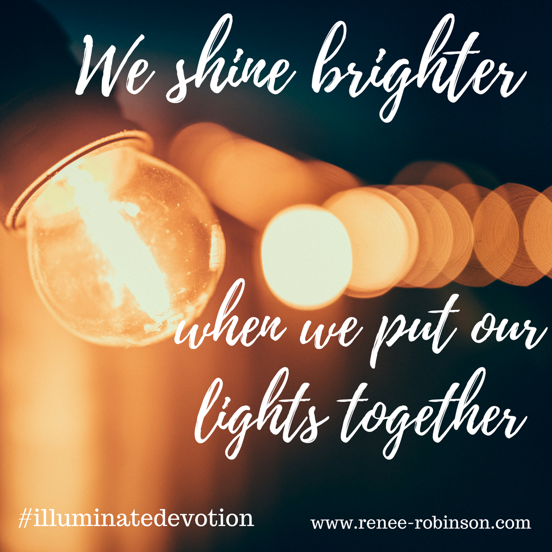Shine bright together